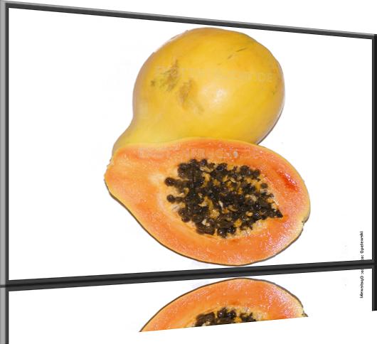 papaya s e exotische frucht. Black Bedroom Furniture Sets. Home Design Ideas